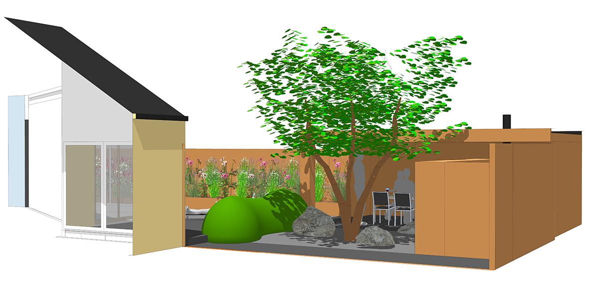 tuinarchitectuur - tuinontwerp